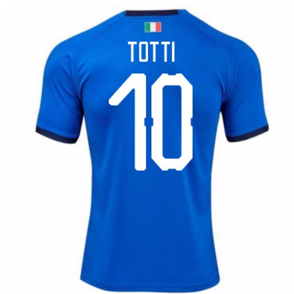 2018-19  Home Football Soccer T-Shirt Trikot (Francesco Totti 10) - Kids