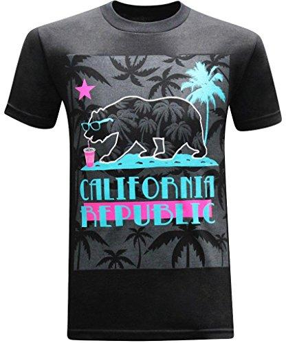 California Republic Summer Chillen T Shirt product image