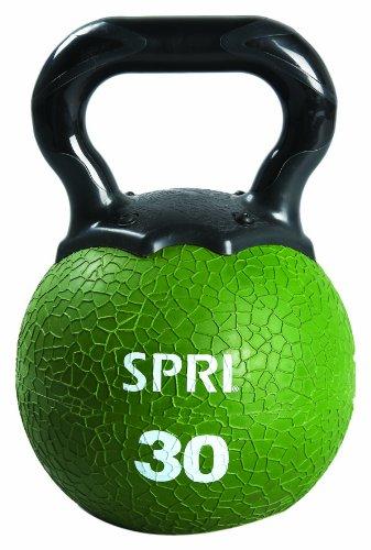 SPRI Kettleball (Moss Green, 30-Pounds)