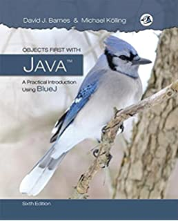 Objects first with java a practical introduction using bluej 5th objects first with java a practical introduction using bluej 6th edition fandeluxe Image collections