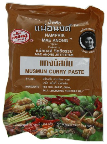 Mae Anong Musmun Curry Paste, 16-Ounce
