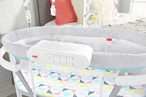51TUf%2BVdY8L - Fisher-Price Soothing Motions Bassinet, Windmill