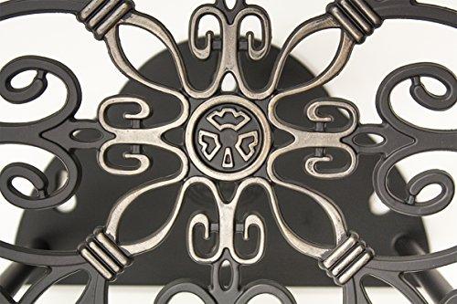 Liberty Garden Products 670 Wall Mount Decorative Garden Hose Butler, Holds 125-Feet of 5/8-Inch Hose - Bronze