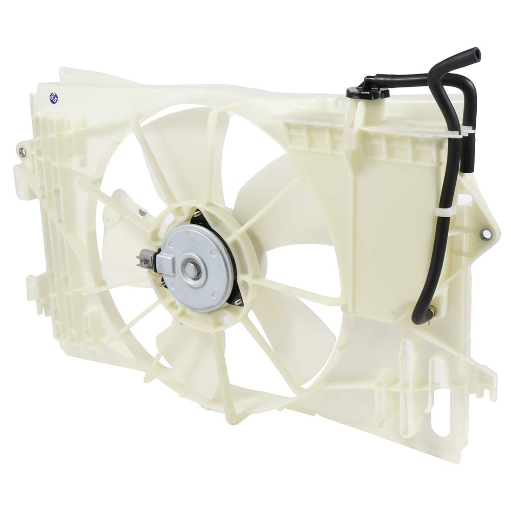 cciyu Radiator or Condenser Cooling Fan Fit for 2003-2008 Pontiac Vibe Toyota Corolla//Matrix