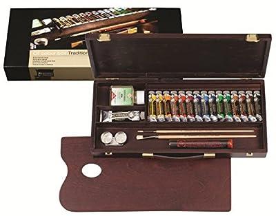 Rembrandt oil paints luxury box 16 colors 410 847 [HTRC 3] (japan import)