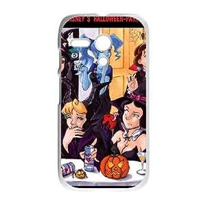 Motorola G White phone case Halloween Disney Princess The best gift FOE9407960