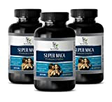 Sexual libido for Men - Super MACA - Premium Complex 2070MG - LIBIDO Booster - yohimbe Extract for Erection - 3 Bottles 180 Capsules