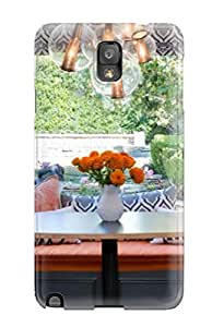 linJUN FENGFirst-class Case Cover For Galaxy Note 3 Dual Protection Cover Gray And Orange Kitchen Banquette