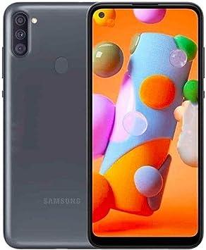 هاتف سامسونج جالاكسي ايه 11 (ذاكرة رام 2 جيجابايت، ذاكرة تخزين داخلية 32 جيجابايت، لون اسود)