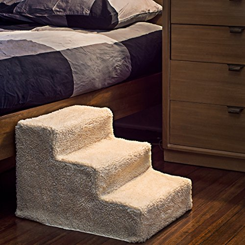 Animals Favorite Pet Bed Stairs 3 Steps Ladder For Small