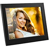 "Aluratek - 8"" Slim Digital Photo Frame with Auto Slideshow 1024 x 768 Hi-Res"