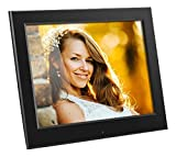 Aluratek - 8'' Slim Digital Photo Frame with Auto Slideshow 1024 x 768 Hi-Res