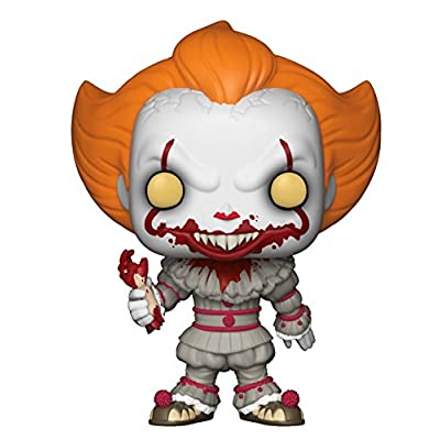Funko Pop! Horror: IT - Pennywise with Severed Arm, Exclusive Collectible Figure, Multicolor: Toys & Games