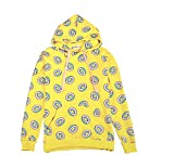 Kpop GOT7 Mark Yellow Jump Hoodie Creative Donut Pattern Sweatershirts Yellow US L(Tag XL)