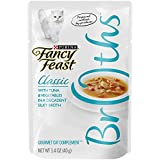 Fancy Feast Broths For Cats Tuna & Vegetables In A Decadent Silky Broth - Pack of 16, 1.4 Oz. Ea.