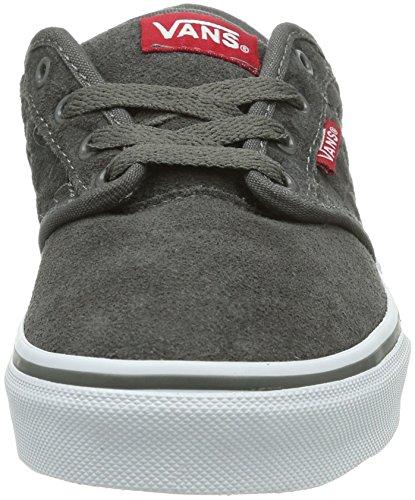 Vans Y ATWOOD  (PALMS) BLACK/C - Zapatillas de lona infantil Oxblood/Negro
