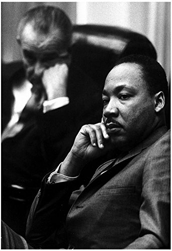 martin-luther-king-jr-with-president-lyndon-b-johnson-art-poster-print-13-x-19in