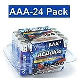 ACDelco AAA Super Alkaline Batteries in Recloseable Package, 24 Count