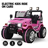 Best Electric Car For Kids - Fitnessclub 12V Kids Ride On Cars with Remote Review