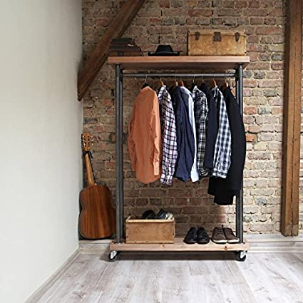lowest price 63af9 ec7d0 Industrial Clothes Rail: Amazon.co.uk: Kitchen & Home