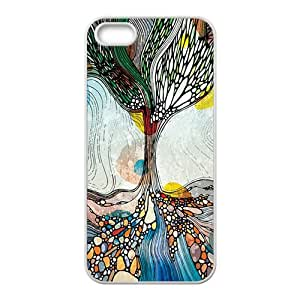 Creative Pattern Fashion Comstom Plastic case cover For Iphone 5s