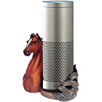 FitSand (TM) Horse Statue Crafted Stand Station Guard Holder for Amazon Echo Plus, Amazon Echo Dot, Jam Classic Speaker - BFF For Alexa