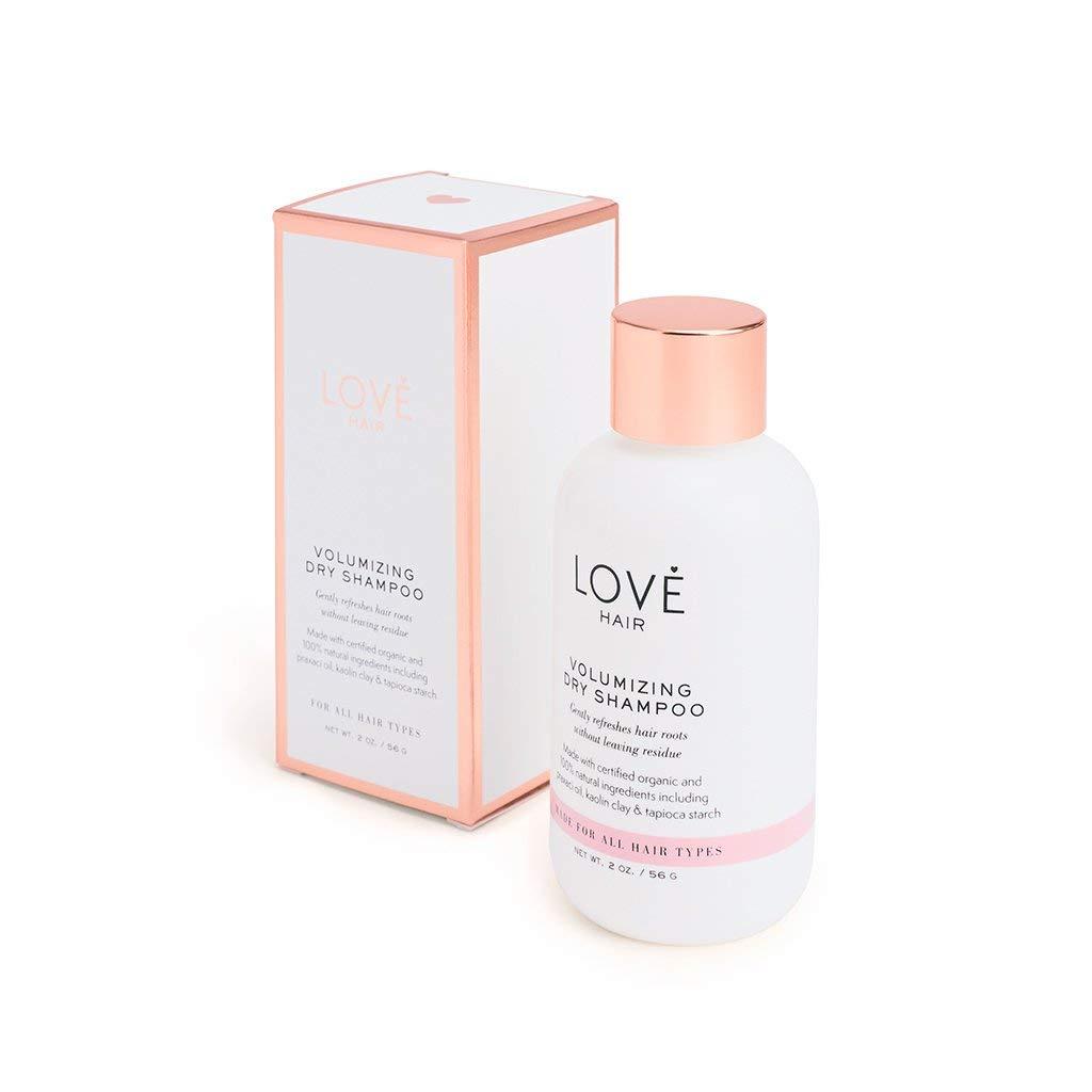 Volumizing Dry Shampoo by Love Hair | Non-Aerosol Luxury Dry Shampoo, Effective on All Hair Types | No Parabens, No Sulfates, No Synthetic Fragrances, 100% Naturally Derived, Cruelty Free, Vegan