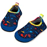 Apolter Baby Boys and Girls Swim Water Shoes Barefoot Aqua Socks Non-Slip for Beach Pool: more info