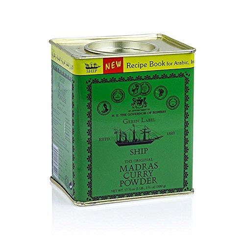 Ship Brand Madras Curry Powder (Imported), 500g by Ship Brand