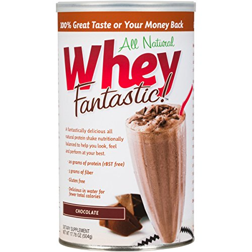 Whey Fantastic Chocolate Whey Protein Powder | The New Standard In All Natural Protein | Get Optimal Nutrition With Grass Fed, Hormone-Free, Gluten-Free, Non-GMO, Non-Denatured (Oxy Nectar)