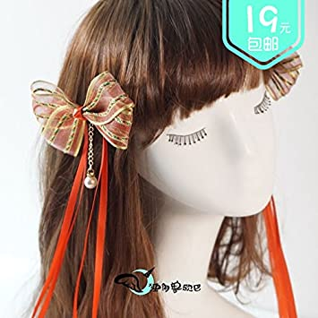 Amazon com : Opadry antiquity Unicorn bow hair ornaments