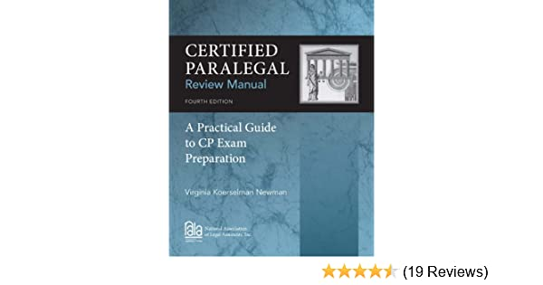 .com: certified paralegal review manual: a practical guide to ...