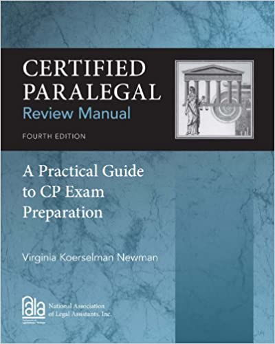 Amazon certified paralegal review manual a practical guide to certified paralegal review manual a practical guide to cp exam preparation 4th edition kindle edition fandeluxe
