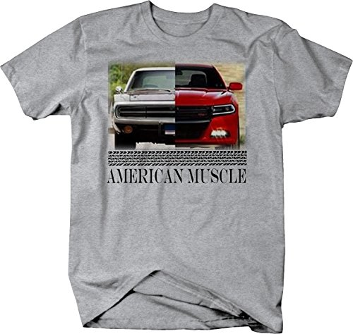 American Muscle Dodge Charger Modern & Classic Hotrod Mopar Tshirt - 3XL Dodge Charger T-shirt