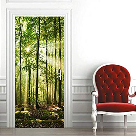 Door Mural Photo Sticker Non-woven 20229/_VET Fresh Limes Lime Lemons Green Water
