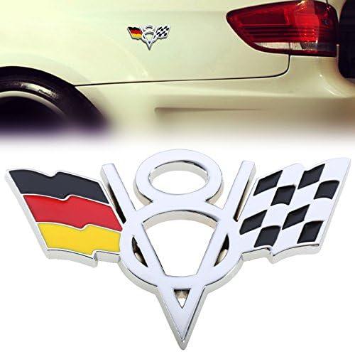 Black Firemans High Quality Stylish 3D Metal Grill Car Sticker Rear Trunk Emblem for E46 E30 E34 E36 E39 E53 E60 E90 F10 F30 M3 M5 M6