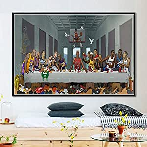 YIYEBAOFU Pósters e Impresiones de Arte Pintura Abstracta