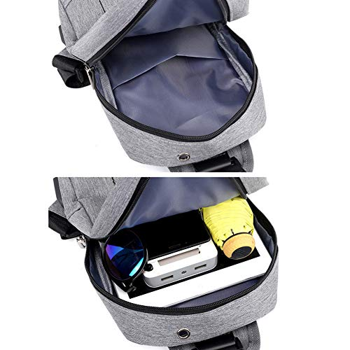 Black Goal Lightweight Heren Shoulder Voor Dames Wind Backpack With en Usb Bag Oplaadpunt Windbag Blue 1wAdOX