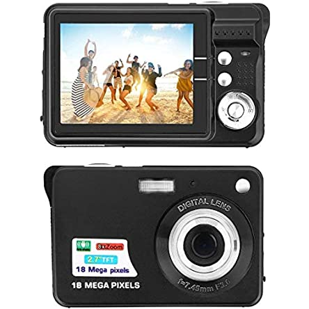 Digital Camera,2.7 Inch HD Camera for Backpacking Rechargeable...