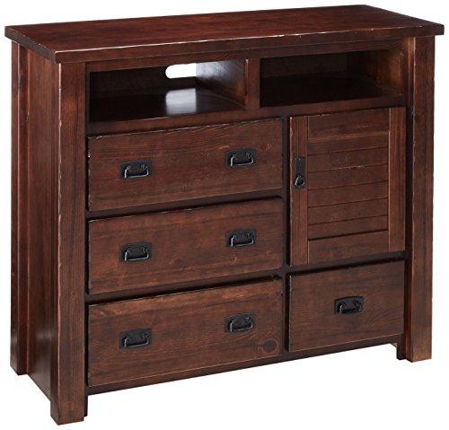 Price comparison product image Progressive Furniture Trestle Wood Media Chest