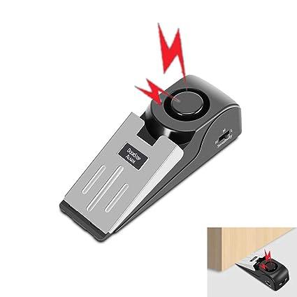 Amazon.com: NOBGP 4 Pack Upgrade Wedge Door Stop Alarm 120dB ...