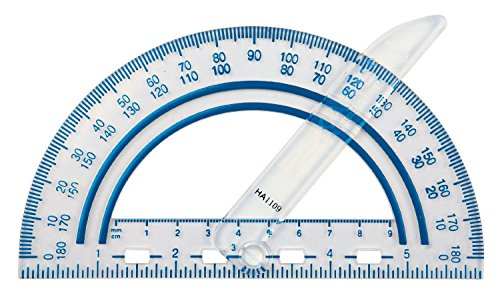 Fiskars 12 95400J Plastic Protractor Received