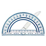 Fiskars Plastic Swing Arm Protractor Set of 1