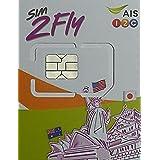 AISアジア16カ国 周遊プリペイドSIM 4GB 8日間 4G・3Gデータ通信使い放題 / 韓国 台湾 香港 シンガポール マカオ マレーシア フィリピン インド カンボジア ラオス ミャンマー オーストラリア ネパール  ※日本でも利用可能