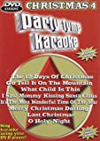Party Tyme Karaoke DVD Christmas, Vol. 4
