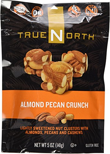True North Almond Pecan Crunch Nut Clusters 5oz Bag -