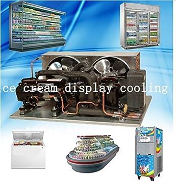 Refrigeración GOWE condensación unidad supermercado vitrina isla ...