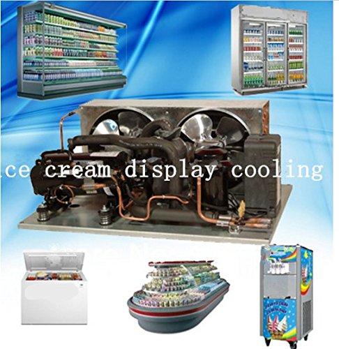Enfriamiento GOWE unidad helado nevera congelador comercial mini ...