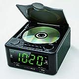 "Hannlomax HX-300CD CD Clock Radio, PLL FM Radio, 1.2"" Digital Clock, Dual Alarm"