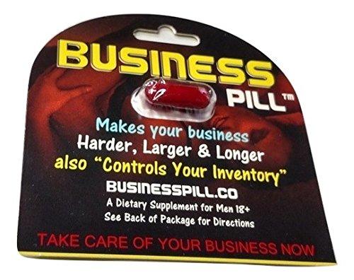 ALL NEW Business Pill For Men Male Sexual Enhancement Enhancer Pill (3 Pack) (Best Long Lasting Pills)